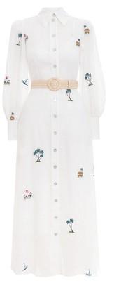 Zimmermann Kirra Patches Shirt Dress