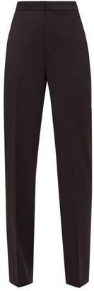Tibi Sebastian High-rise Crepe Trousers - Black
