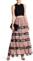 Alice + Olivia Hetty Paisley Print Maxi Skirt