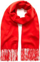 Mulberry Cashmere Scarf Fiery Red Cashmere