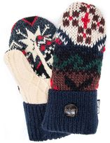 Muk Luks Women's Lodge Potholder Mittens