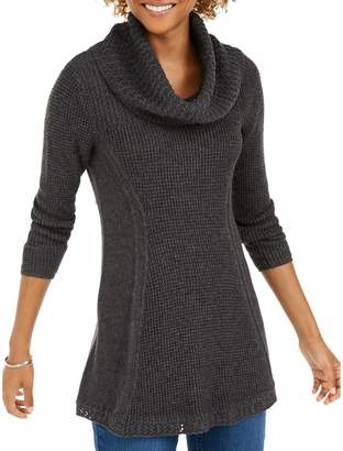 Style&Co. Style & Co. Petite Cowl Neck Tunic Sweater