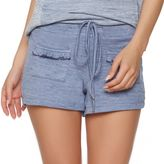 Jezebel Women's Ruffle Trim French Terry Shorts