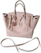 Ralph Lauren Ricky Pink Leather Handbags