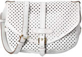 Louis Vuitton Limited Edition White Perforated Monogram Canvas Saumur 30