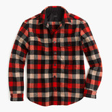 J.Crew Shirt-jacket in essential check