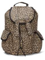 GT Collection Hipster Rucksack Style Backpack - Fierce Cheetah Animal Print Style