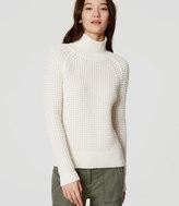 LOFT Square Stitch Sweater