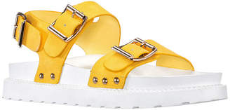DAYBREAKS POWERED BY NINA Daybreaks Powered By Nina Urban Womens Slingback Strap Footbed Sandals