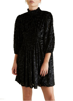 Seed Heritage Ocelot Metallic Dress