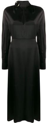 MATÉRIEL Buckled Silk Dress