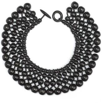 Natori Four Layer Beaded Necklace