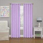 Eclipse Curtains Eclipse 10707042X084LPR Kendall 42-Inch by 84-Inch Thermaback Room Darkening Single Panel, Light Purple