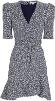 Jonathan Simkhai Evelyn Floral Crepe Mini Dress