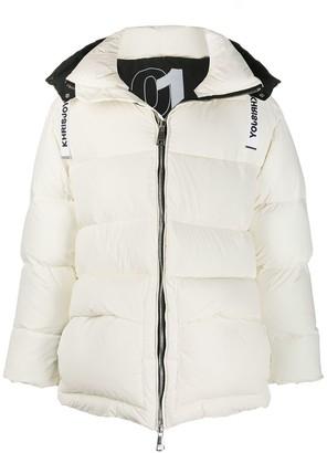 KHRISJOY Long-Sleeve Padded Jacket