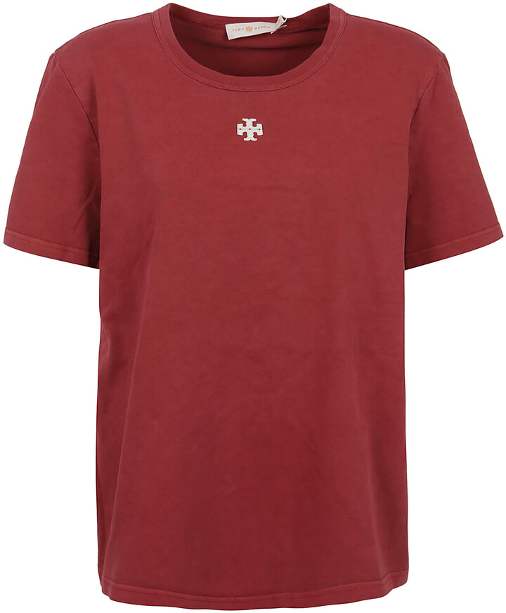 Thumbnail for your product : Tory Burch Logo Patch T-shirt