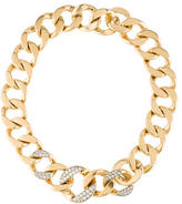 Cartier Diamond Curb Chain Necklace
