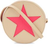 Stella McCartney Fluorescent star round cross-body bag