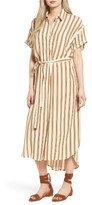 Faithfull The Brand Women's Jena Stripe Maxi Shirtdress