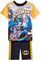 Nannette 2-Pc. Batman T-Shirt & Shorts Set, Toddler & Little Boys (2T-7)