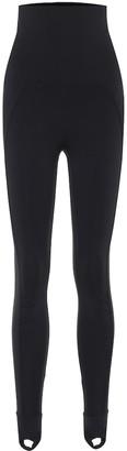 adidas by Stella McCartney High-rise stirrup leggings