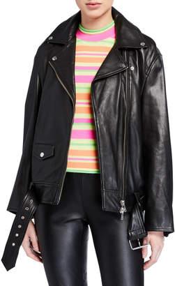 Stand Abi Lamb Leather Jacket