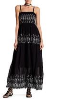 Romeo & Juliet Couture ROMEO &JULIET COUTURE Smocked Maxi Sequin Dress