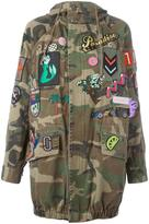 Marc Jacobs embellished hooded anorak