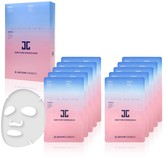 JayJun Korean Beauty Baby Pure Shining & Brightening 3-Step Mask 10-Piece Set