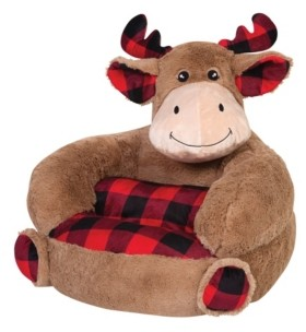 Trend Lab Children's Plush Moose Character Chair Bedding