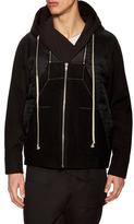 Rick Owens Wool Zip Jacket
