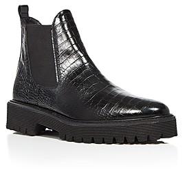 Freda Salvador Women's Susana Platform Chelsea Boots
