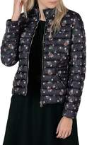Molly Bracken Floral-Print Quilted Jacket