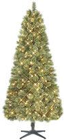 Glucksteinhome Pre-Lit Seven-Foot Grand Cashmere Pine Tree