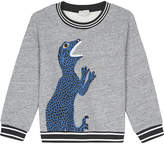Paul Smith Philippus dinosaur appliqué sweatshirt 4-14 years