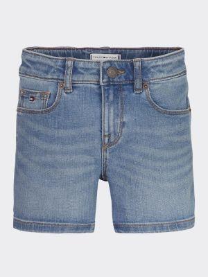 Tommy Hilfiger Nora Faded Denim Shorts