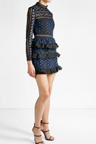 Self-Portrait Lace Mini Dress