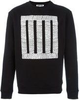 McQ by Alexander McQueen square print sweatshirt