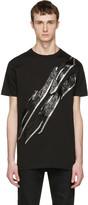 DSQUARED2 Black Lightning Bolt T-shirt