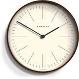 Newgate Mr Clarke Clock - Marker Dial - Dark Stain S