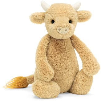 Jellycat Medium Bashful Cow Stuffed Animal