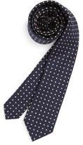 Nordstrom Boy's Dot Cotton & Silk Tie