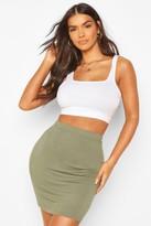 Boohoo Bella Basic Jersey Mini Skirt