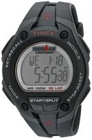 Timex IRONMAN® 30-Lap Mega Silver w/Black Resin Strap Sports Watch