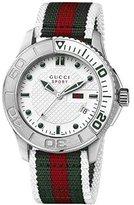 Gucci Men's G-Timeless YA126231 Multi Nylon Swiss Quartz Watch