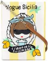 Mua Mua Vogue Sicilia sequinned clutch