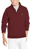 Lacoste Men's 1/4 Zip Light Weight Fleece Sweatshirt
