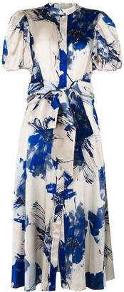 Silvia Tcherassi Ophelia floral-print silk dress