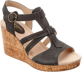Sperry Women's Dawn Day Leather Wedge Sandal