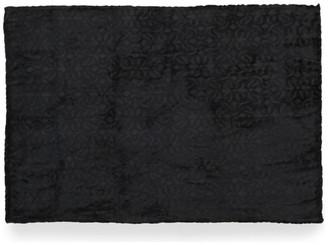 Gdfstudio Jaiden Flannel Throw Blanket, Black